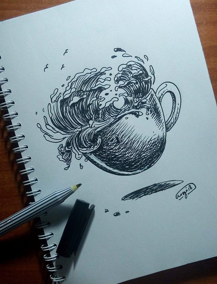 Doodling: Visual Idea untuk Menandai Momen